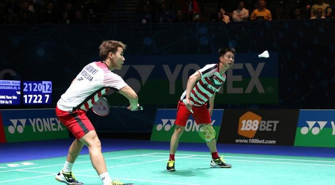 Marcus/Kevin ke Final All England