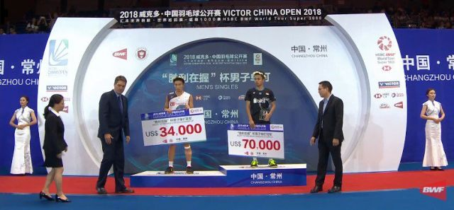 Anthony Ginting Juara China Open