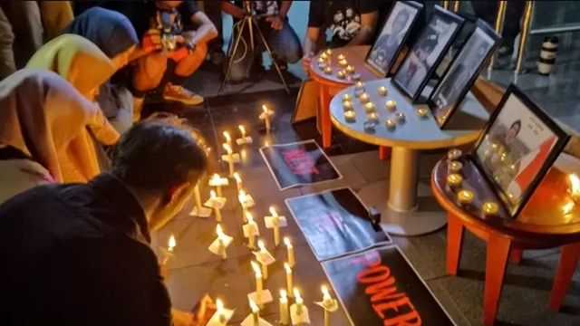 Novel di Malam Renungan 5 Demonstrans yang Meninggal